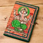 〈12.8cm×8.5cm〉インドの神様柄紙メモ帳 - ガネーシャの個別写真