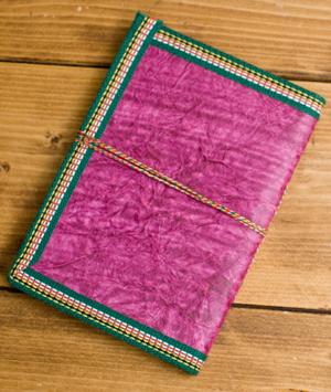 〈18cm×13cm〉インドの神様柄メモ帳 ガネーシャの個別写真