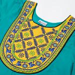 フラワー刺繍のカラークルティの選択用写真
