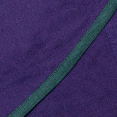 ライン入りアラジンパンツ - 紫の個別写真
