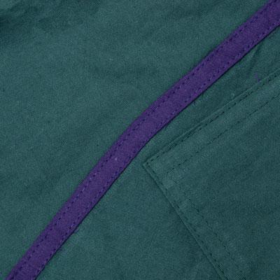 ライン入りアラジンパンツ - 青緑の個別写真