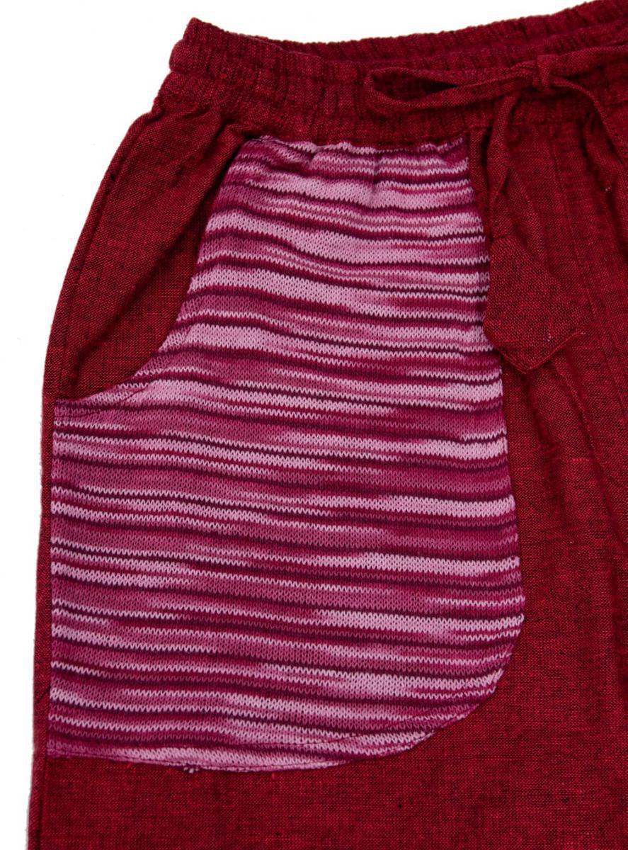 カラフルポケット コットンパンツ の個別写真