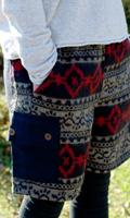 ネパールふわふわ起毛のハーフカーゴパンツ の個別写真