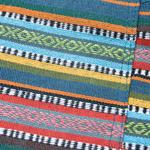 しっかり丈夫な素材が嬉しい!エスニック布のショートパンツの個別写真