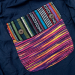 ニットポケットが可愛い!コットンパンツの個別写真