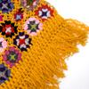 お花モチーフのカラフルポンチョの個別写真
