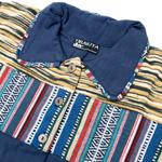 コットンゲリのシャツワンピースジャケットの個別写真