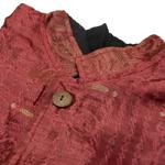サリー刺繍 長袖クルタシャツ の個別写真