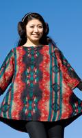 ダッカ織りのふわふわクルタシャツの個別写真