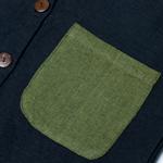 ナチュラルカラーのクルタシャツの個別写真