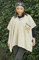 ストーンウォッシュの半袖プルオーバーシャツ 【うすウグイス色】の個別写真