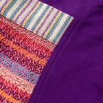 ネパールのカラフルポケットスカートの個別写真
