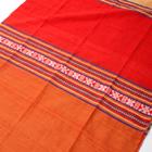 ベトナム ターイ族の伝統手織りスカーフ・デコレーション布(切りっぱなし)の個別写真