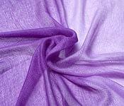 ガーゼ生地のグラデーション スカーフ【紫】の個別写真
