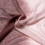 ガーゼ生地のグラデーション スカーフ【茶色】の個別写真
