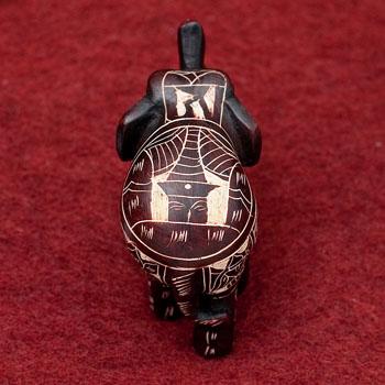 手彫り模様のエレファント像[5.8cm]の選択用写真