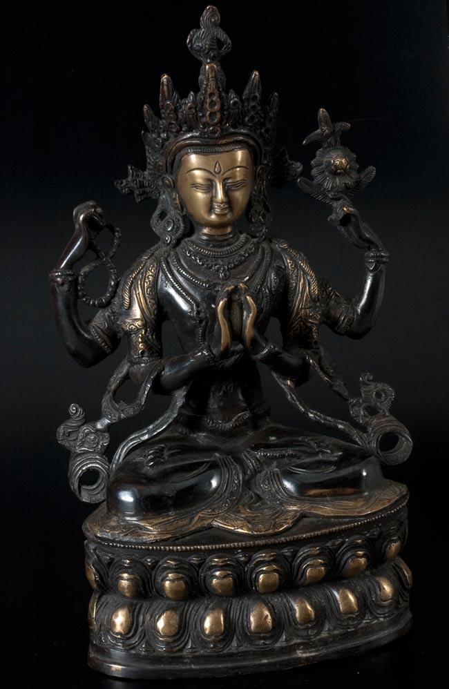 六字観音菩薩(シャドゥクシャリー・アヴァローキテーシュワラ)[37cm]の写真