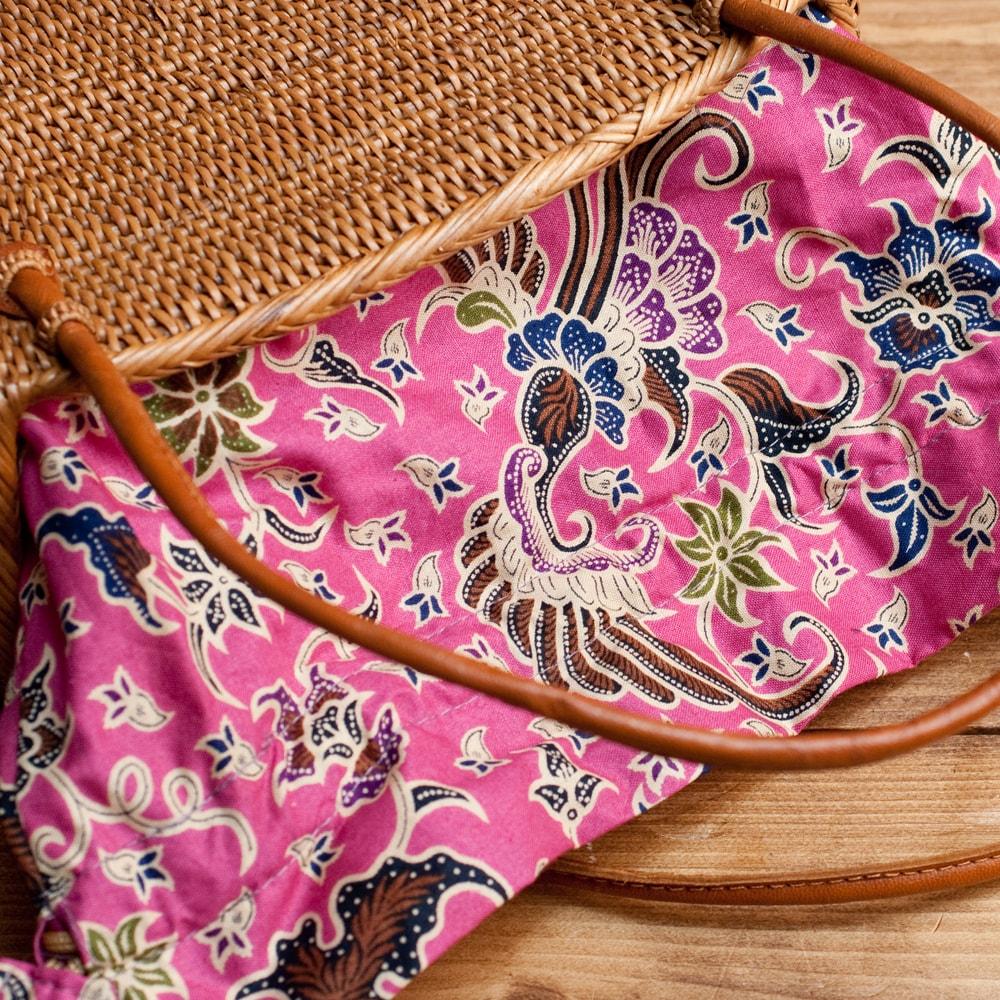 アタかご 巾着バッグ 発祥の地トゥガナン村で手作りの選択用写真