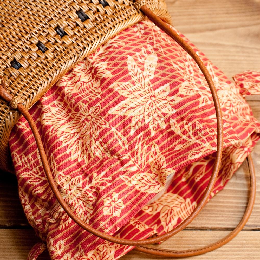 アタかご 巾着バッグ 発祥の地トゥガナン村で手作りの個別写真