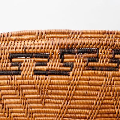 トゥガナン村の収納アタバスケット - 特大[高さ:48cm程度]の個別写真