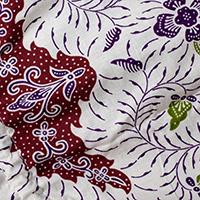 アタかご 巾着スクエアバッグ 発祥の地トゥガナン村で手作り【約22cm x30cm 】の選択用写真
