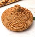 トゥガナン村のアタ タジン鍋型小物入れ 【23cm】