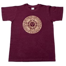 ブッダアイ マンダラTシャツの個別写真