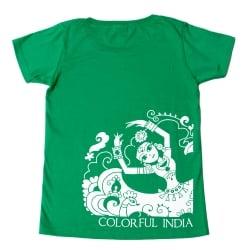 カラフルインディアTシャツの個別写真