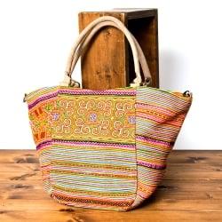 モン族刺繍の2WAYバッグの個別写真