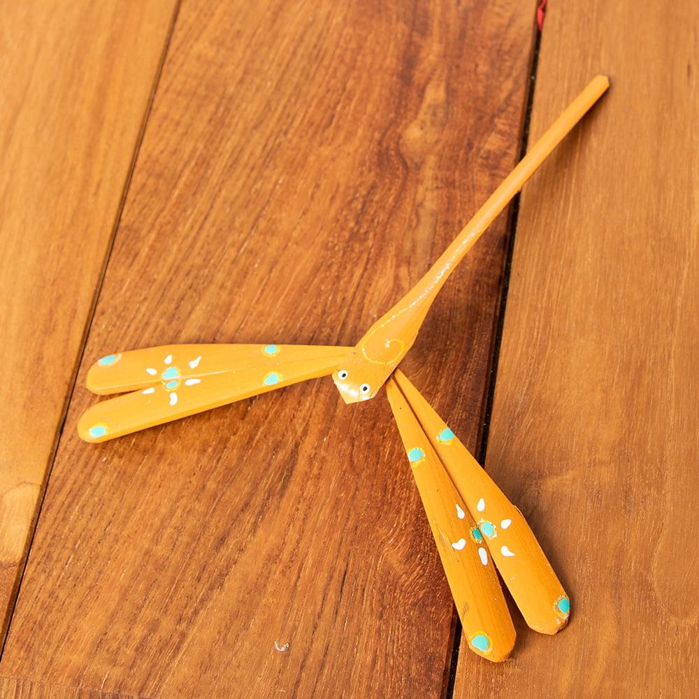 【16cm】ベトナムの竹製トンボ【ヤジロベエ】 の個別写真