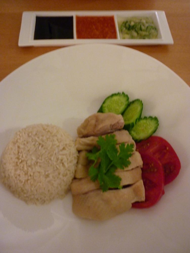 海南鶏飯の写真