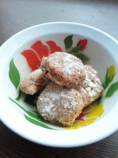 ほろほろ♪カシューナッツのクッキーの写真