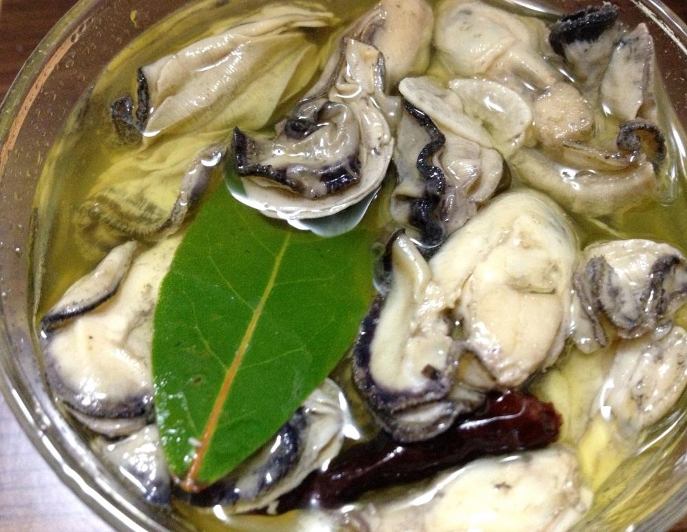 牡蠣のオイル漬け(洋風)の写真