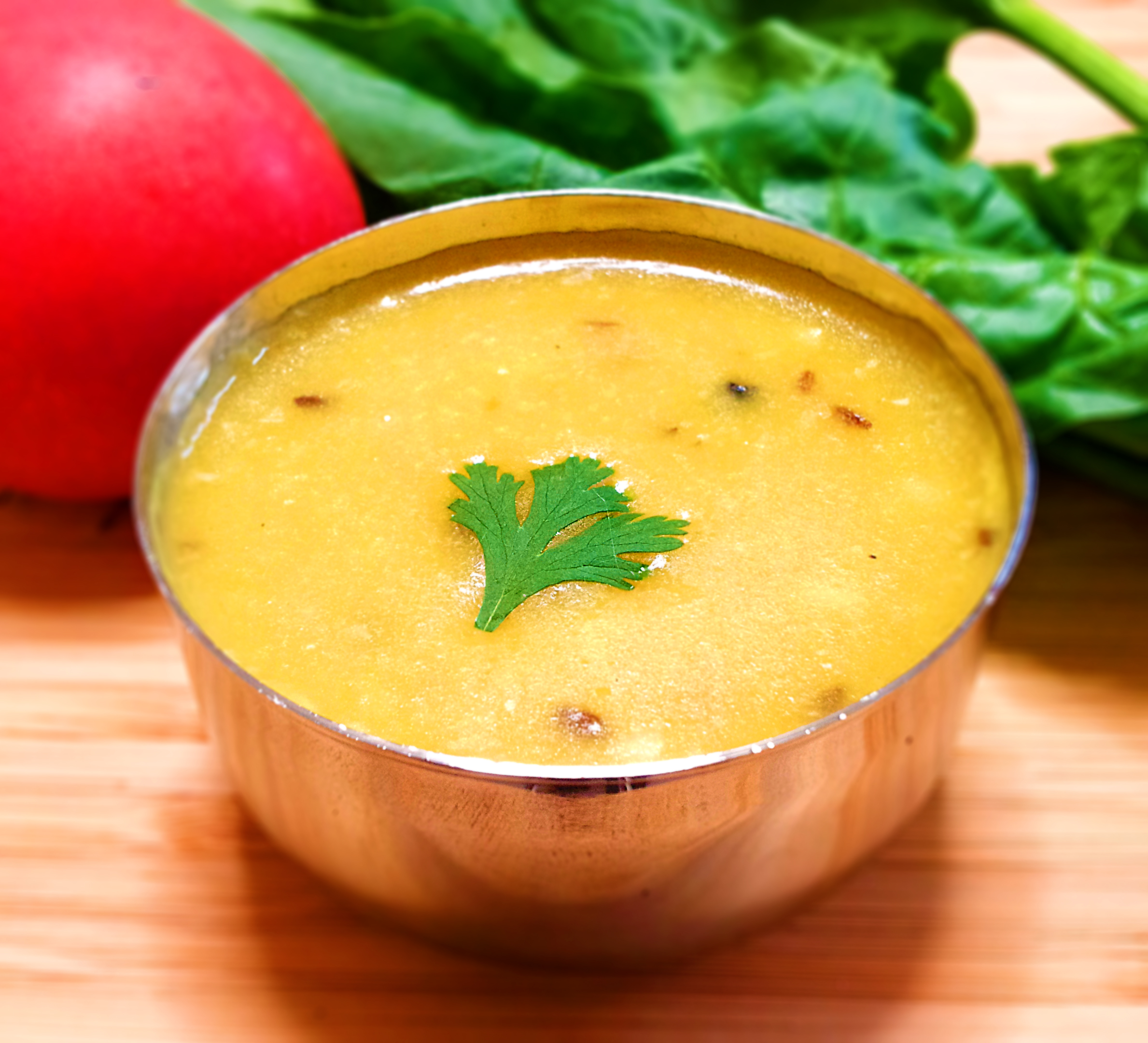 ダール(豆のポタージュスープ)の写真