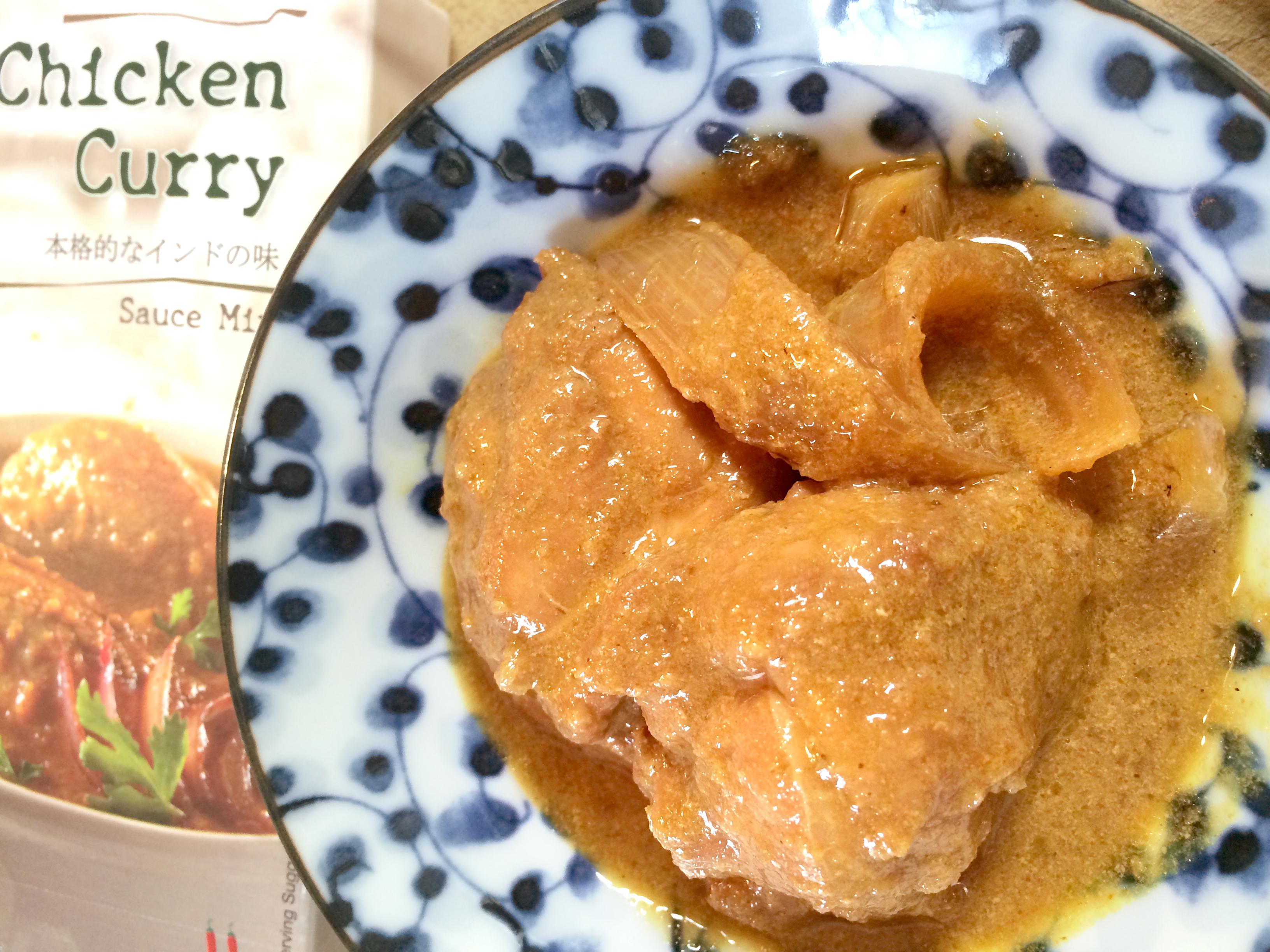 チキン カレーの写真