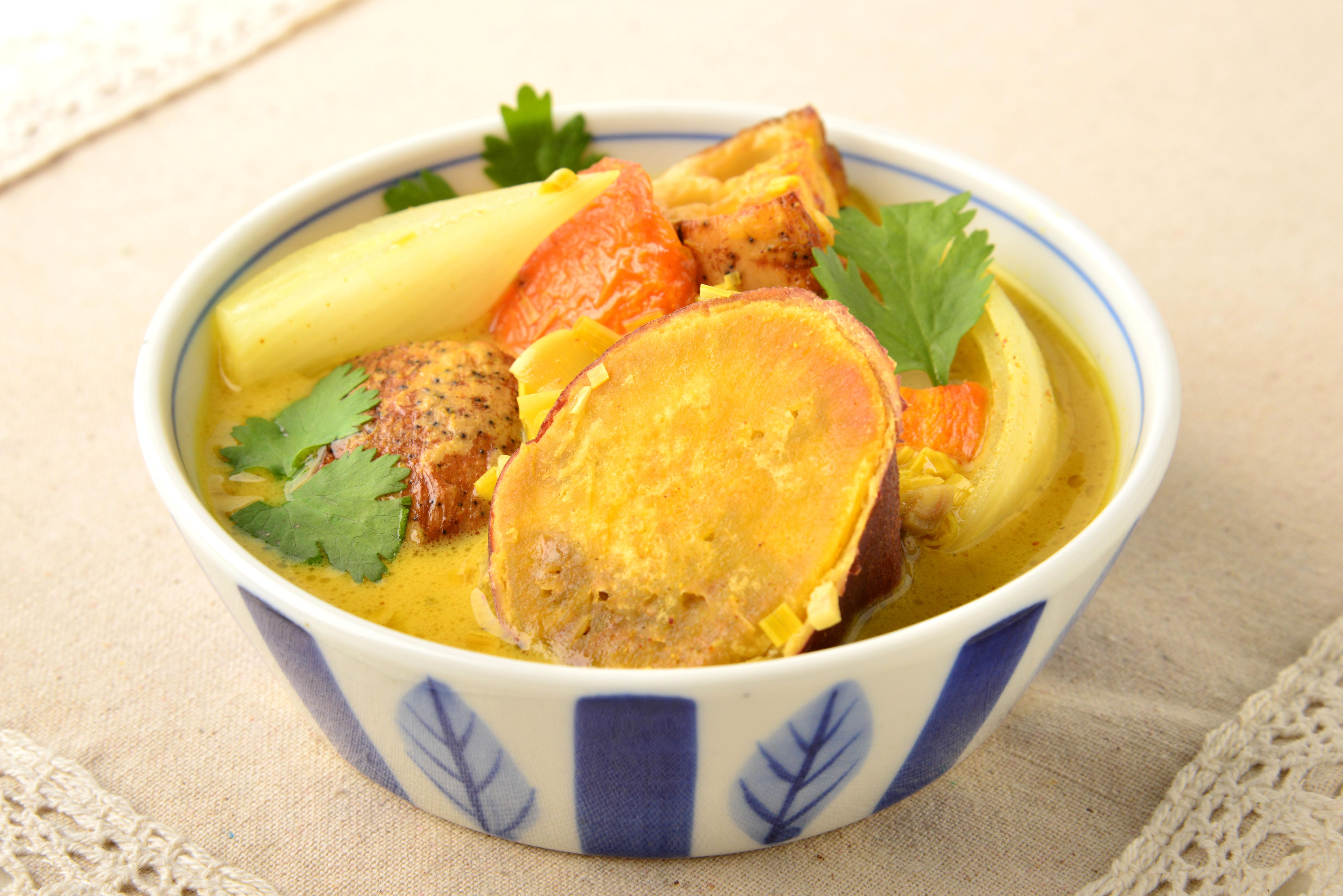 ベトナム野菜カレーの写真