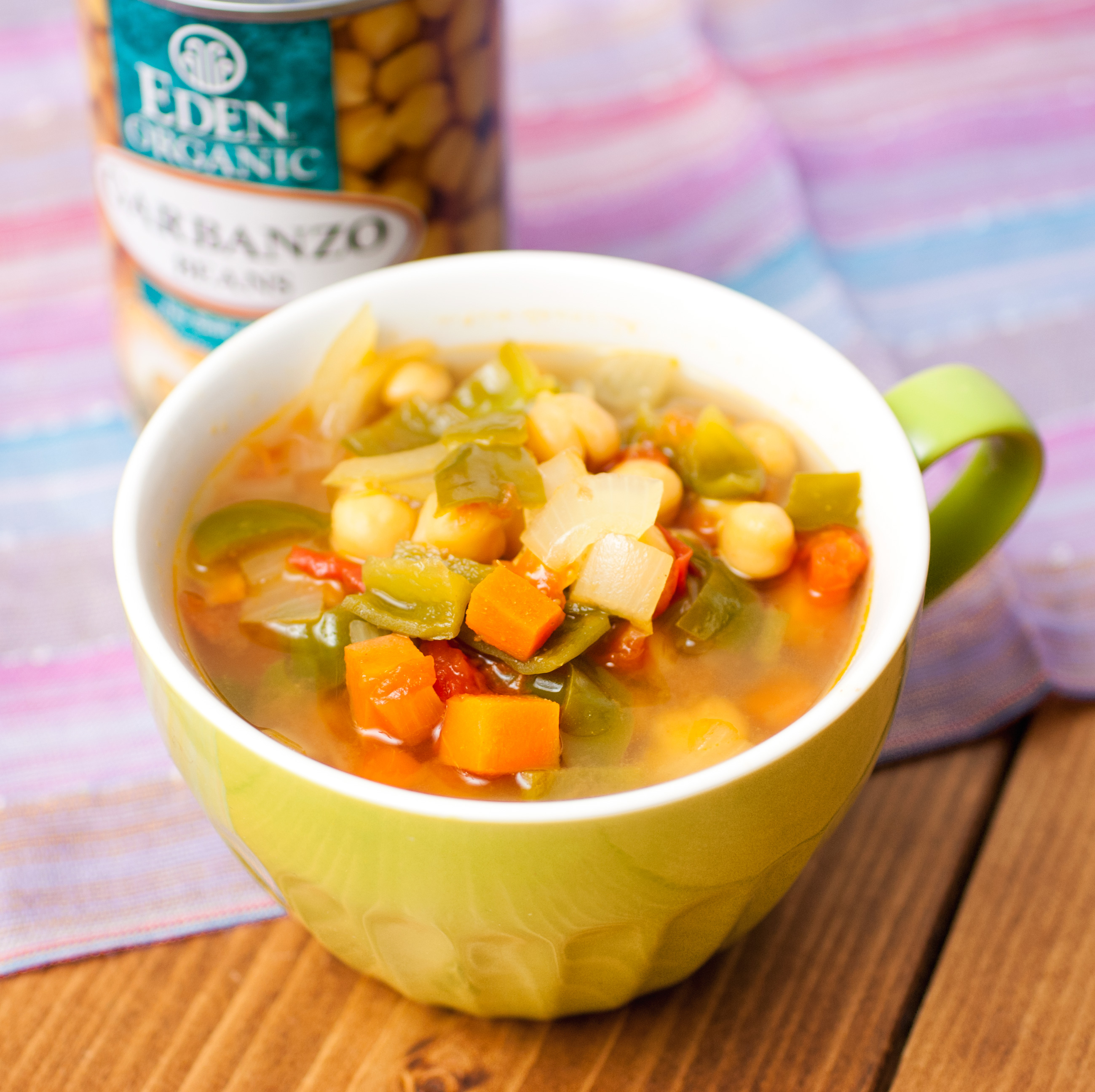 ベジ豆スープの写真
