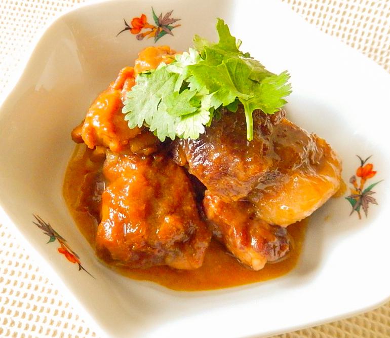 フィリピンの肉のアドボの写真