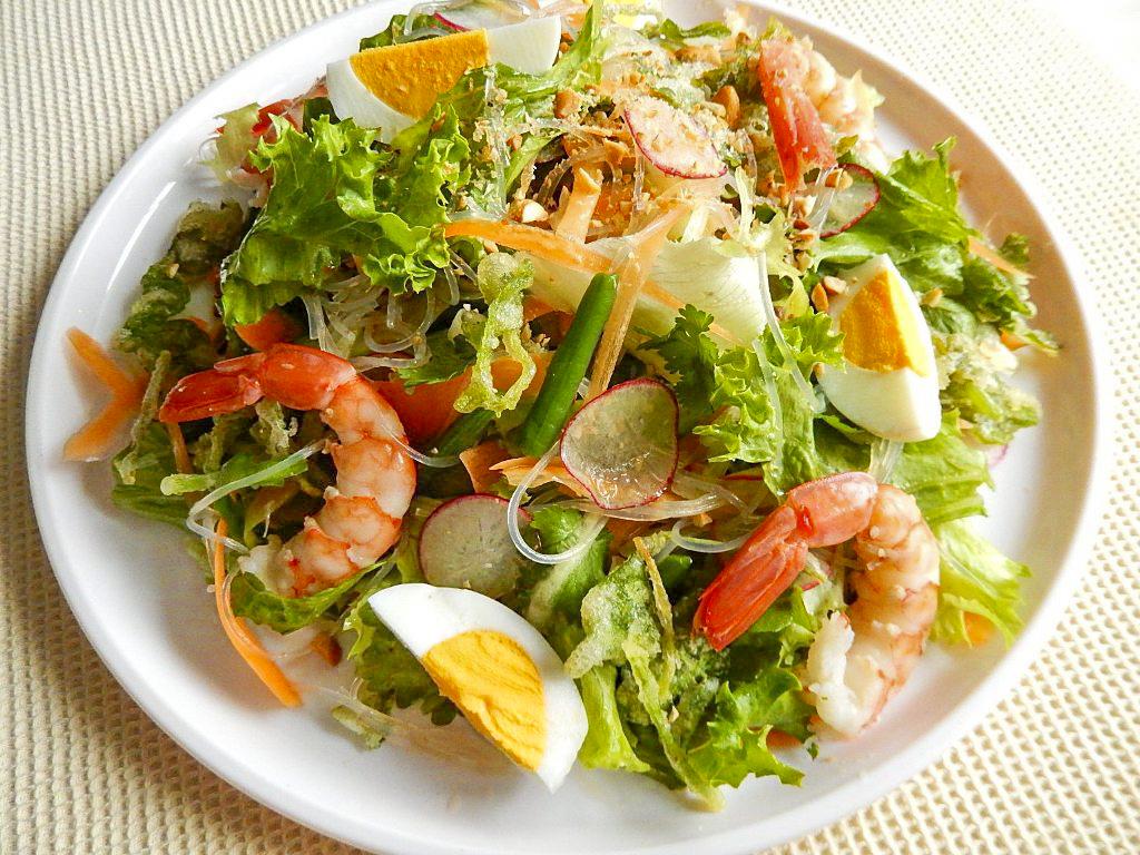 タイのヤムヤイ サラダの写真