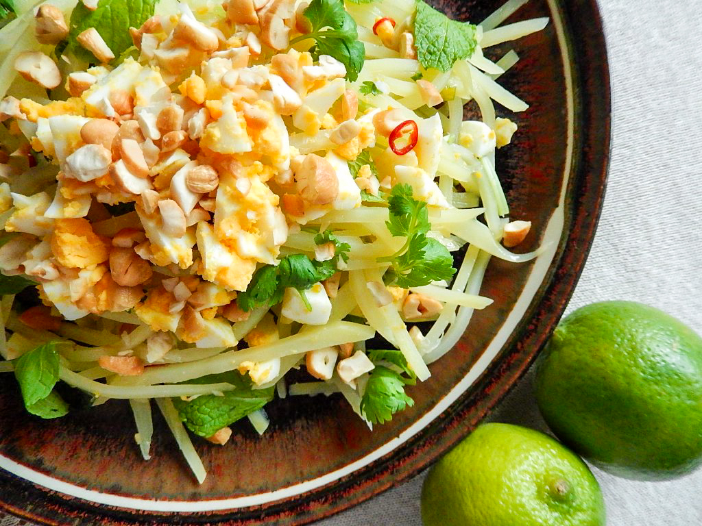 ベトナム風じゃがいものエスニックサラダの写真