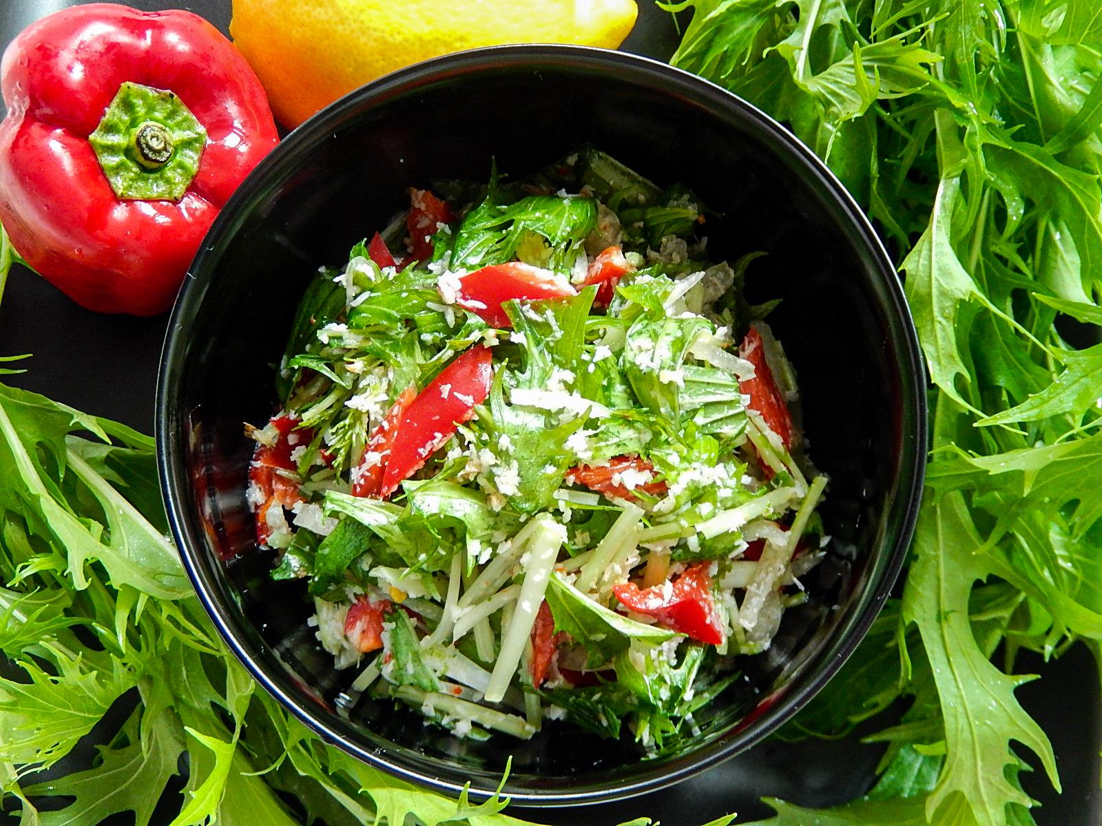 水菜のサンボルの写真