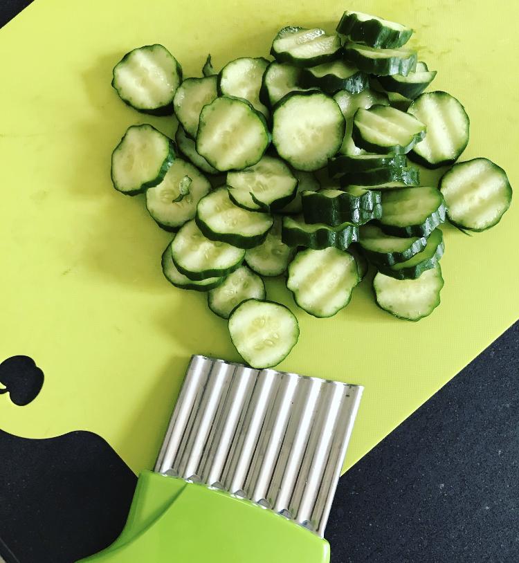 食べ切りサイズの自家製ピクルスの写真