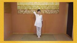 DVDでおぼえる赤根彰子のベーシック・ヨーガ【改定版】の写真 - ゆっくりな動きでゆったりと学べます
