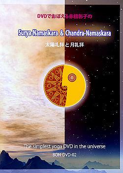 DVDでおぼえる赤根彰子の太陽礼拝と月礼拝