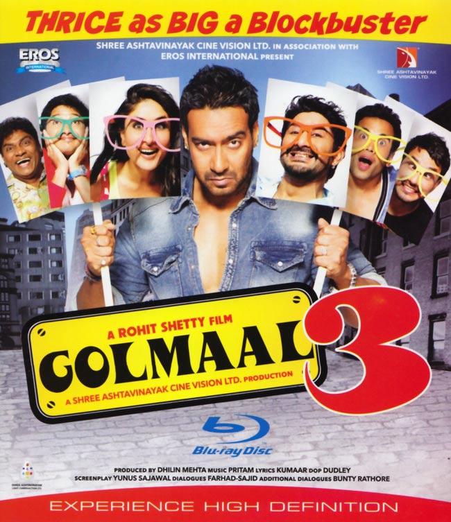 GOLMAAL 3[BD]の写真