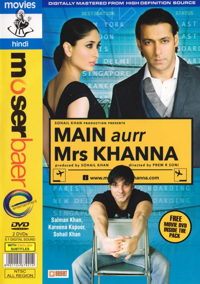 Main aurr Mrs Khanna [DVD] 1