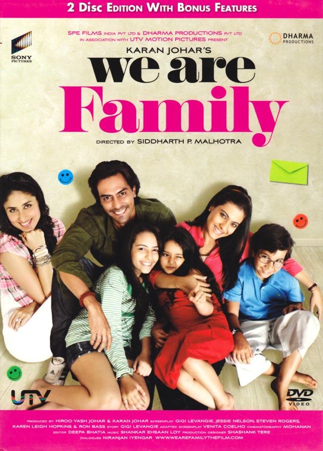 We are Family[DVD]の写真