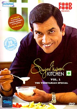 Sanjeev Kapoors Kitchen - Vol.1 (The Vegetarian Special)(DVD-1301)