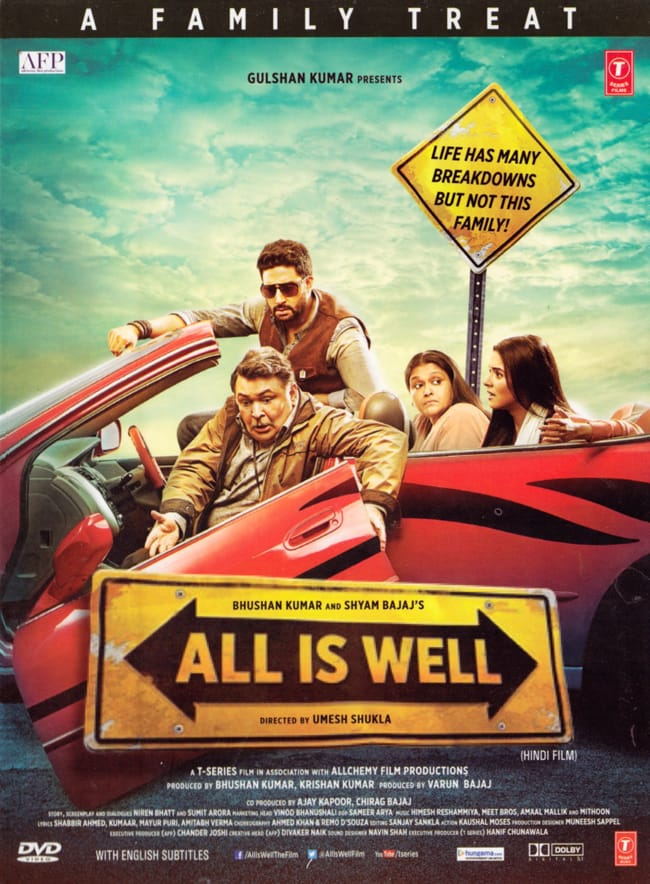 ALL IS WELL[DVD]の写真