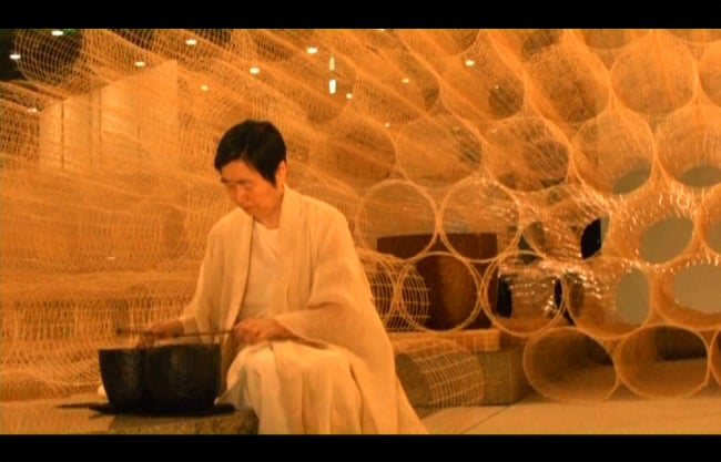 永田砂知子 波紋音パフォーマンス イサム・ノグチ「天国」 3 - 映像の一部をご紹介
